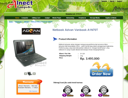 advan vanbook